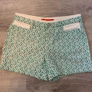 Anthropologie Cartonnier green women's shorts
